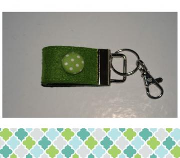 Schlüsselanhänger Knopf