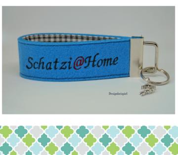 Schlüsselanhänger Schatzi@home