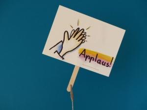 Konferenzkarte: Applaus! - belebe Videokonferenzen     - Handarbeit kaufen