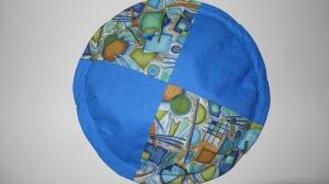 Frisbeescheibe in blau, perfekt für die Hosentasche   - Handarbeit kaufen