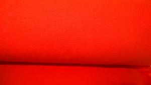 Bündchen fein Ripp, Schlauch, in der Farbe orange, 25 cm