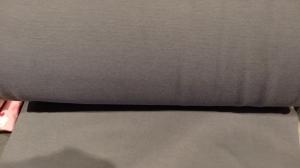 Bündchen fein Ripp, Schlauch, in der Farbe grau, 25 cm  - Handarbeit kaufen
