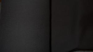 Bündchen fein Ripp, Schlauch, in der Farbe dunkelbraun, 25 cm  - Handarbeit kaufen
