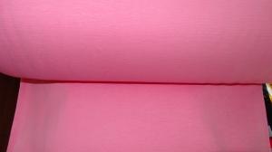 Bündchen fein Ripp, Schlauch, in der Farbe rosa, 25 cm  - Handarbeit kaufen