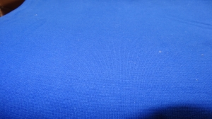 Bündchen fein Ripp, Schlauch, in der Farbe blau, 25 cm - Handarbeit kaufen