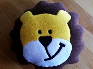 ***   Löwen Kissen mit einem netten Gesicht   ***