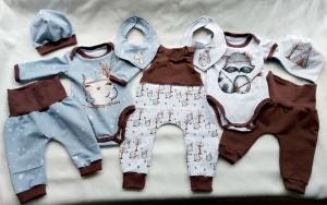 Babyset, Kleidungsset, New born, Babygeschenk, Eule /Fuchs, Gr. 56