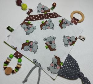 Süßes Knistertuch mit vielen Einzelteilen - Koalabär