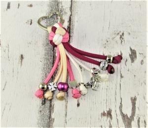 Schlüsselanhänger Einhorn aus Paracord Anhänger für Schlüssel mit Schlüsselring Taschenbaumler Taschenanhänger  Anhänger Tasche  - Handarbeit kaufen