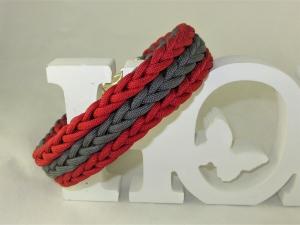 Hundehalsband Rusty Halsband aus Paracord geflochten Flechthalsband wahlweise Zugstopp oder Klickverschluss Kunststoff oder Metall - Handarbeit kaufen
