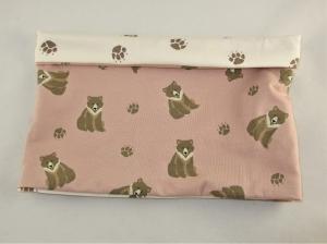 Hundeloop Grizzly Hundeschal Bandana Loop Schal für Hunde weich wärmend  - Handarbeit kaufen