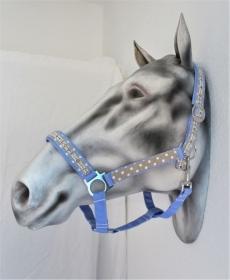 Pferdehalfter Hope/Joy/Love handgefertigtes Stallhalfter Reithalfter Halfter für Pferde Größe Warmblut verstellbar  - Handarbeit kaufen