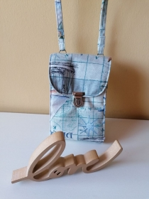 Handytasche, Umhängetasche, Tasche, Kleine Tasche, Aus-Geh Tasche - Handarbeit kaufen