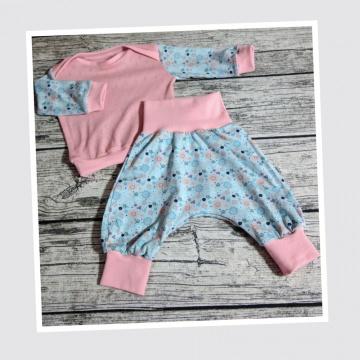 Babyset Gr. 62 bestehend aus Pumphose und Shirt