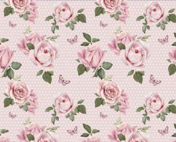 Jersey Lovely Roses / Baumwolljersey / Jersey Blumen