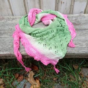 Tuch * Halstuch * Dreiecktuch * Stricktuch * Kindertuch * Baumwolle Organic - Handarbeit kaufen