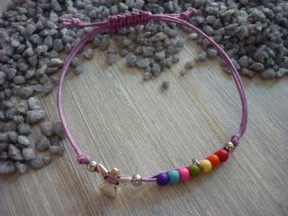 Armband zur Kommunion,Konfirmation...mit Schutzengel und bunten Perlen - Handarbeit kaufen
