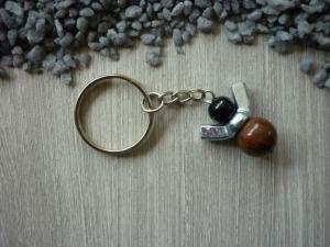 Schutzengel - nicht  nur für Männer Schlüssselanhänger Glücksbringer  - Handarbeit kaufen