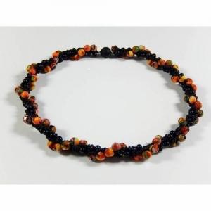 Häkelkette Perlenkette Halskette Damenhalskette Geschenk - Handarbeit kaufen