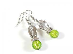 Hübsche zeitlose Ohrhänger Ohrringe Einzelstück Frauengeschenk - Handarbeit kaufen