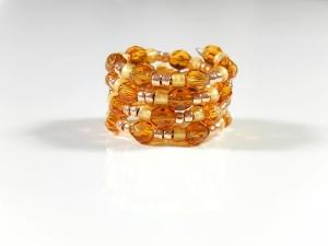 Spiralring Ring Fingerring Geschenk Damenschmuck  - Handarbeit kaufen