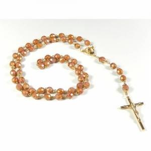 Rosenkranz gekettelt Kommunion Hochzeit Taufe Geschenk Gebetskette - Handarbeit kaufen