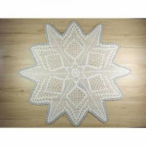 Häkeldeckchen Häkelstern Stern Deckchen Weihnachtsdeckchen Tischdeko - Handarbeit kaufen