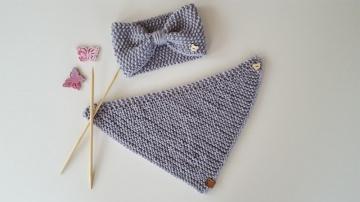 Baby-Set Stirnband ♥ Halstuch erhältlich von KU 36 - 50