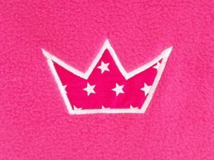 Krabbeldecke Krone pink