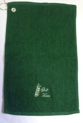 Golf-Handtuch mit Öse