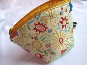 Mini - Universaltäschchen, Taschenorganizer, Schnullertasche, Sommerwelt, selbstgenäht - Handarbeit kaufen