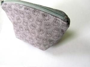 Universaltäschchen, Taschenorganizer, Schnullertasche, kleine Eulen, selbstgenäht   - Handarbeit kaufen