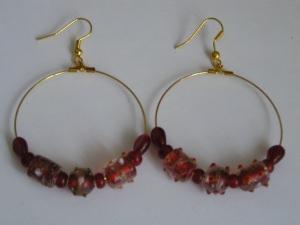 selbstgestaltete Ohrringe -Einzelpaar-