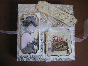 Geschenkschachtel und Band -Einzelstück-