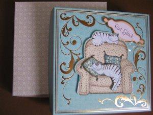 romantische Geschenkeschachtel -Einzelstück-