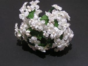 Miniseidenblüten zum Dekorieren oder Basteln