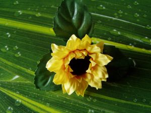 Sonnenblumenstreuteile - Set 10 Stück
