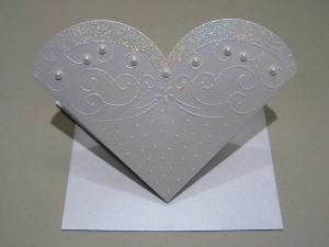 Ausgefallene Hochzeitskarte (2178)