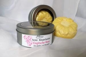 Körperbutter Englische Rose Körperöl Körpercreme
