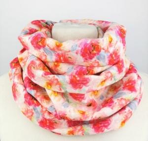 Frühlings Blumen Musselin Loop Schal Handmade ☆ kostenloser Versand ☆