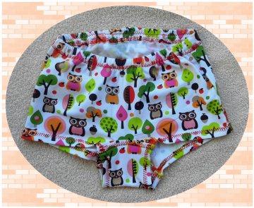 Mädchenpants, Mädchenslip, Mädchenunterhose, Gr.:110 - Handarbeit kaufen