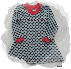 Mädchenkleid, Kinderkleid, Langarmkleid für Mädchen, Gr.: 92 - Handarbeit kaufen