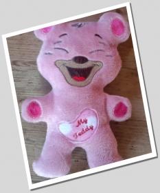 Kuscheltier, Teddy, selbst hergestellt, 27 cm groß! - Handarbeit kaufen