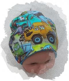 Jungenmütze mit Wimmelbildern! - Handarbeit kaufen