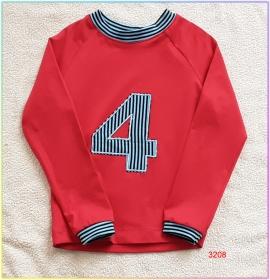 Langarmshirt als tolles Geburtstagsgeschenk für Ihre kleinen Schätze! Gr.: 98 - Handarbeit kaufen