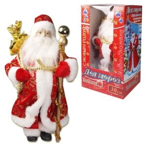Weihnachtsmann / Santa Claus / Ded Moros, Dekorartikel, 30 cm hoch