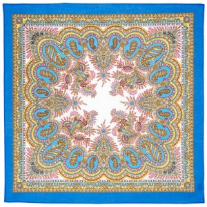 Russischer Schal, gesäumt, 65x65 cm, Baumwolle, Design Ivuschka - Handarbeit kaufen