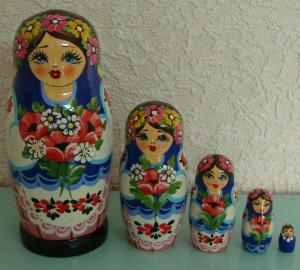 Handgearbeitete Matroschka  - Handarbeit kaufen