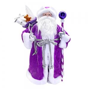 Weihnachtsmann/Ded Moros, Dekorartikel, 40 cm,, lila - Handarbeit kaufen