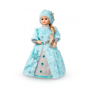 Snegurotschka, Dekorartikel, 40 cm,, blau, mit Fach für Geschenke - Handarbeit kaufen